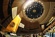 Reflections, United Nations General Assembly, Jeffrey Strew