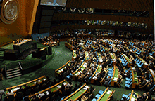 UN General Assembly, Debates,Peace, Stability, Post-2015 Development, Ashley Skiles
