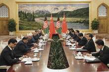 Afghanistan Transitions, China, Thomas Zimmerman