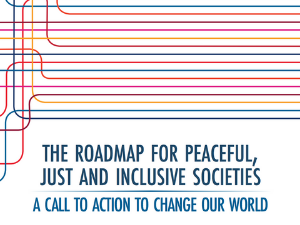 Peaceful, Just and Inclusive Societies | Center on