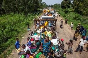 The restive east is being wracked by various conflicts pitting ragtag militias, rebel groups, vigilantes and the Congolese army